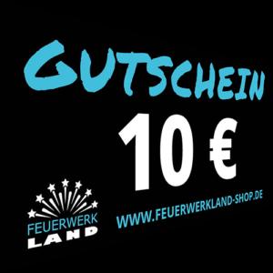 010 Euro Gutscheine Feuerwerkland 2016 - Feuerwerkland