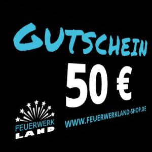 050 Euro Gutscheine Feuerwerkland 2016 - Feuerwerkland