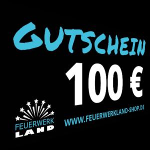 100 Euro Gutscheine Feuerwerkland 2016 - Feuerwerkland