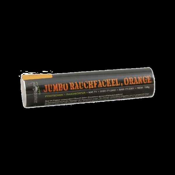blackboxx jumbo rauchfackel orange feuerwerkland shop - Feuerwerkland
