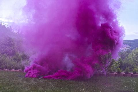 blackboxx jumbo rauchfackel purpur lila e feuerwerkland shop - Feuerwerkland