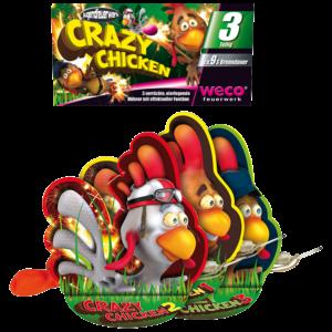 weco crazy chicken 3er feuerwerkland shop - Feuerwerkland