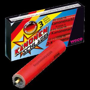 weco kanonenschlag groß 3er feuerwerkland shop - Feuerwerkland