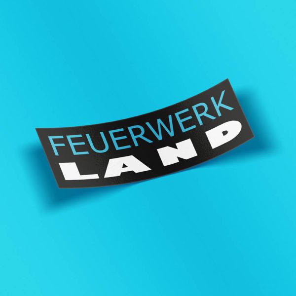 FWL Sticker gross - Feuerwerkland