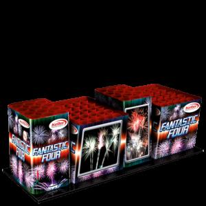 keller fantastic four 74 schuss verbundfeuerwerk feuerwerkland shop - Feuerwerkland