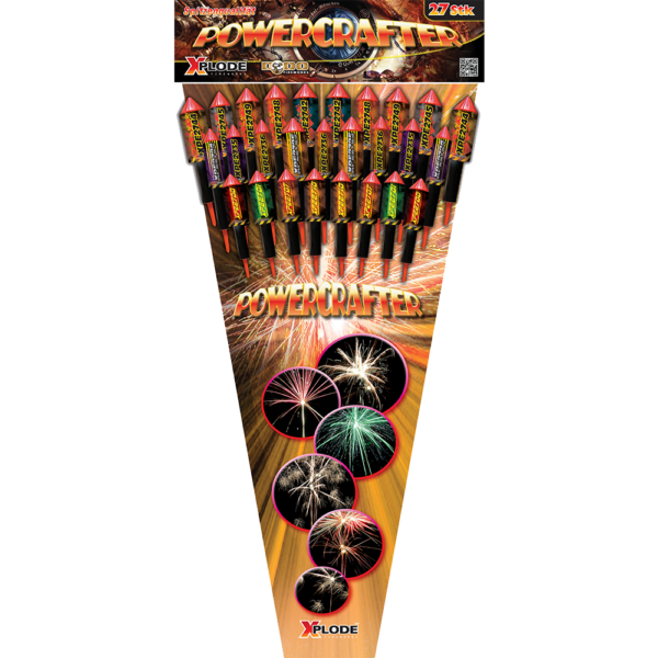 xplode powercrafter raketen feuerwerkland shop - Feuerwerkland
