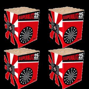 zena superblitz 4er metall käfig feuerwerkland shop - Feuerwerkland