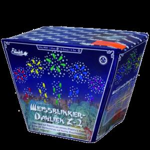 funke weissblinker dahlien z 2 fächerbatterie feuerwerkland shop - Feuerwerkland