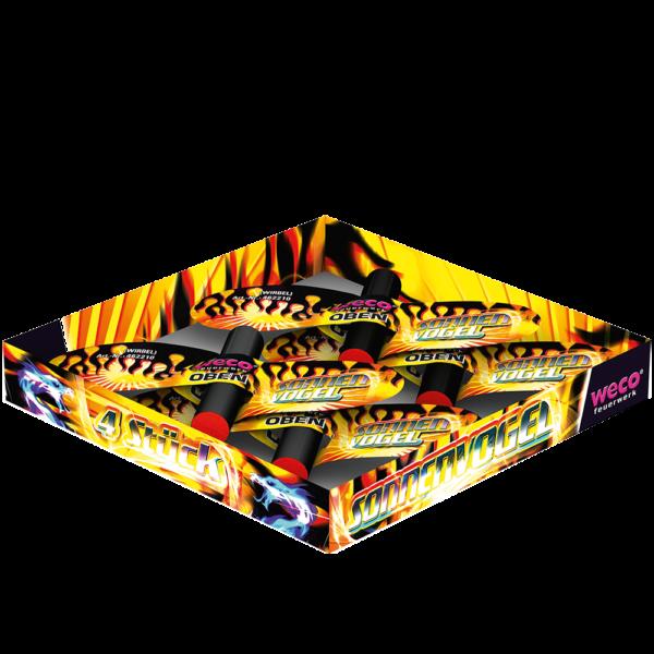 weco sonnenvogel 4er leuchtfeuerwerk feuerwerkland shop - Feuerwerkland