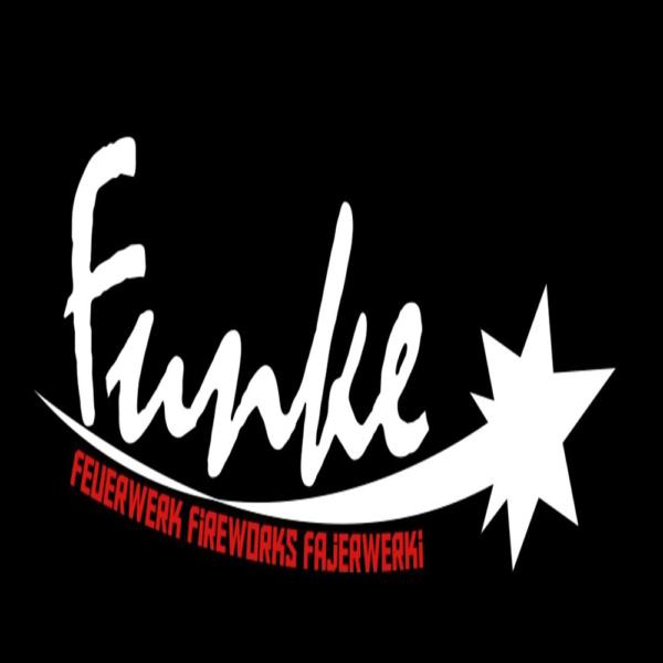 funke feuerwerk fajerwerki fireworks logo schwarz feuerwerkland shop - Feuerwerkland