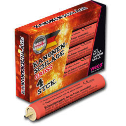 weco kanonenschlag gross 4er feuerwerkland shop - Feuerwerkland
