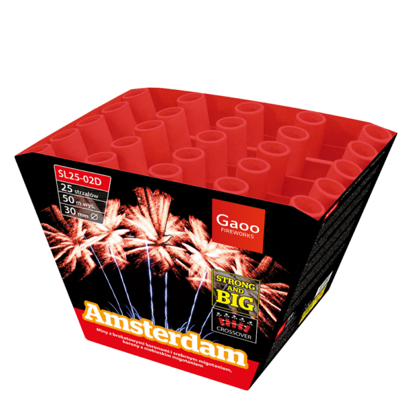 gaoo amsterdam batterie SL25 02D feuerwerkland shop - Feuerwerkland