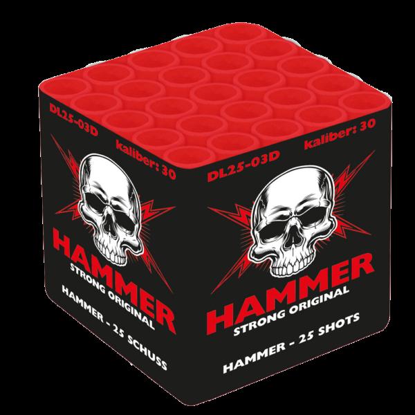gaoo hammer 25 salut batterie DL25 03D feuerwerkland shop - Feuerwerkland