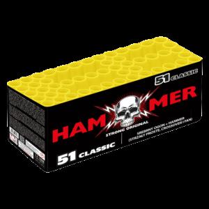 gaoo hammer classic 51 salut batterie HAM51 01 feuerwerkland shop - Feuerwerkland