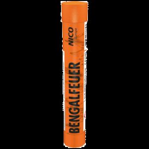 nico bengalfeuer orange jugendfeuerwerk bengalo feuerwerkland shop - Feuerwerkland
