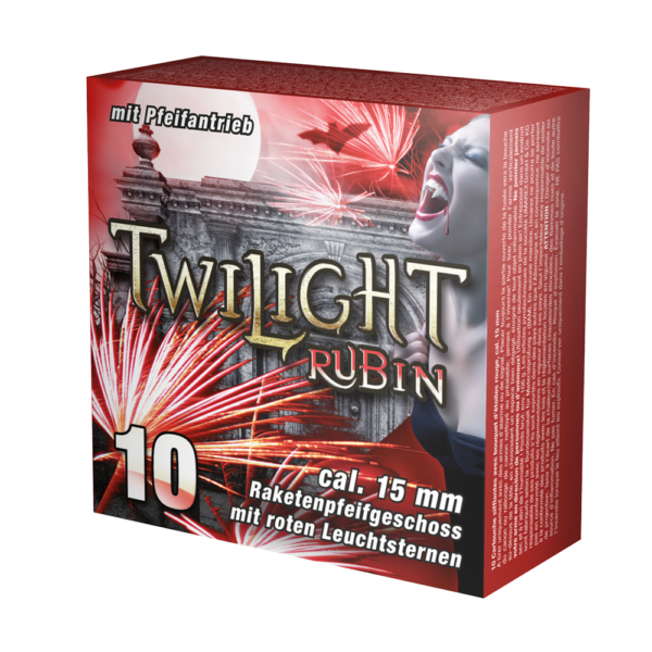 umarex twilight rubin raketenpfeifgeschoss pyrotechnische munition feuerwerkland shop - Feuerwerkland