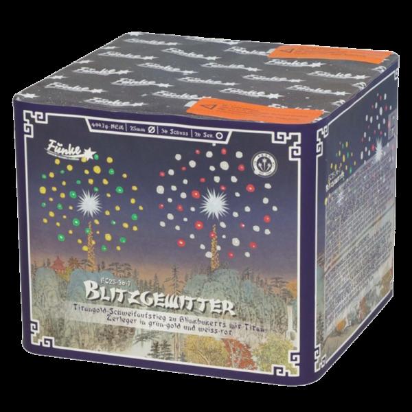 funke blitzgewitter batteriefeuerwerk feuerwerkland shop - Feuerwerkland