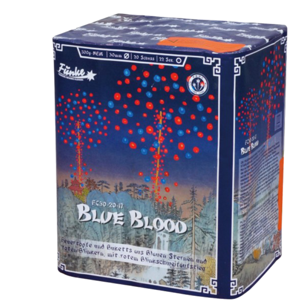 funke blue blood batterie feuerwerkland shop - Feuerwerkland