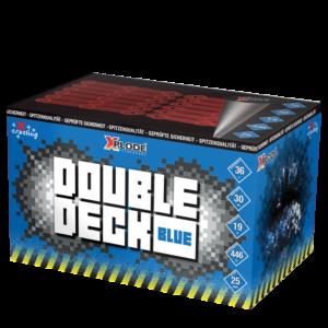 xplode double deck blue fächerbatterie feuerwerkland shop - Feuerwerkland
