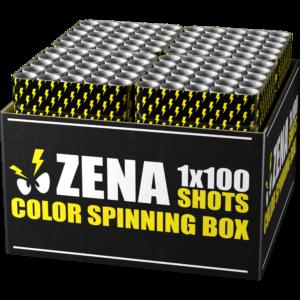 zena color spinning box verbundfeuerwerk feuerwerkland shop - Feuerwerkland