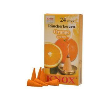 Orange Knox Raeucherkerzen feuerwerkland shop - Feuerwerkland